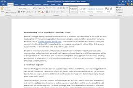 a first look at the microsoft office 2016 preview digital trends