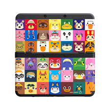 photos of the animal crossing new 3ds cover plates nintendo