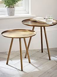 living spaces side tables living spaces side tables unconvincing set of two burnished gold