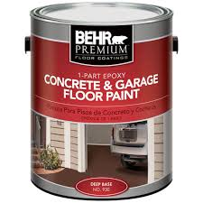 behr premium 1 gal 1 part epoxy concrete and garage floor paint