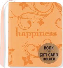 gift card book happiness mini book gift card holder beilenson