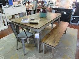 bench farm tables with benches post trestle farm table the