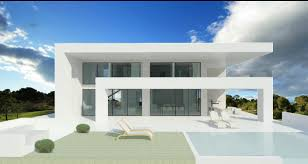 House Design Glass Modern by Modern Turnkey Villas In Spain France Portugal