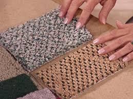 selecting carpet diy