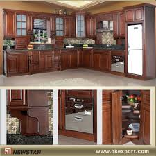 cherry wood pantry cupboards manufacturer from china newstar
