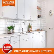 kitchen cabinets white gloss china new design high gloss white melamine kitchen cabinets