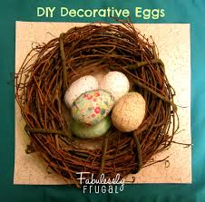 decorative eggs diy decorative eggs made with plastic easter eggs