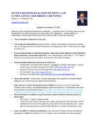 human resources u0026 employment law