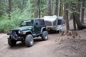 jeep pop up tent trailer thinking of 4 door wrangler as tow vehicle popupportal