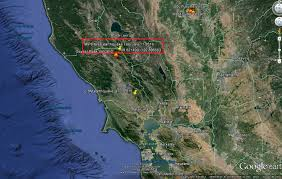 Usgs Earthquake Map California Usgs Mistake Shows 9 9 Magnitude Earthquake In North West