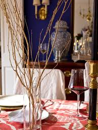 branches for centerpieces last minute thanksgiving centerpieces hgtv s decorating design