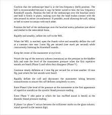 sop templates in pdf