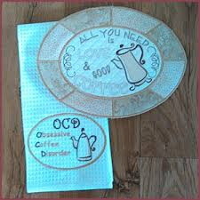 Machine Embroidery Designs For Kitchen Towels by Kitchen Designs Machine Embroidery Designs
