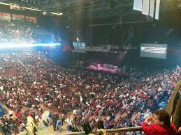 Mohegan Sun Arena Floor Plan Mohegan Sun Arena Section 109 Concert Seating Rateyourseats Com