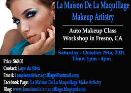 makeup classes in los angeles la maison de la maquillage makeup artistry workshop auto makeup