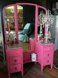Pink Vanity Set Best 25 Pink Vanity Ideas On Pinterest Shabby Chic Vanity