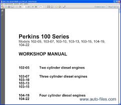 28 manual engine perkins type 1006tg perkins 1104d