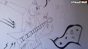 comment dessiner sur un mur de chambre tiboud mur décoration graphique fresque peinture murale et
