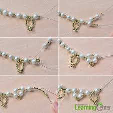 pearl bead necklace images Pandahall jewelry tutorial how to make a homemade white pearl jpg