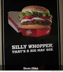 Big Mac Meme - silly whopper that s a big mac box weknowmemes