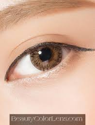 Light Brown Contact Lenses Geolica Lady Brown Gs A14 Brown Contact Lens Beautycolorlens Com