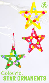 star ornaments christmas tree nursery and bright