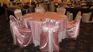 satin chair covers chair covers reasonable party rental