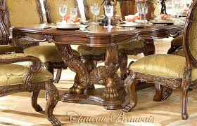 michael amini dining table michael amini dining set chateau rectangular dining table by aico