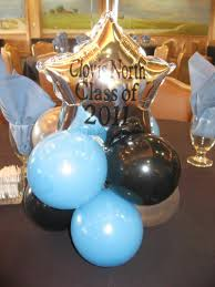 high school graduation favors high school graduation centerpieces balloon centerpiece