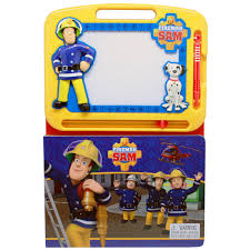 fireman sam learning book magnetic drawing pad bms wholesale
