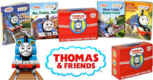 thomas friends red railway book box 6 99 regularly