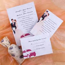 exles of wedding programs car invitations for wedding