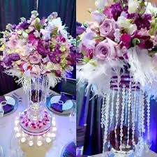 Crystal Vases For Centerpieces Tablecloths Chair Covers Table Cloths Linens Runners Tablecloth