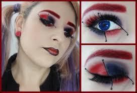 maquillaje harley quinn halloween makeup youtube