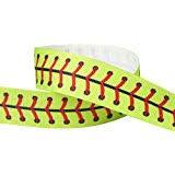 softball ribbon hipgirl 3 8 sports printed grosgrain ribbon softball