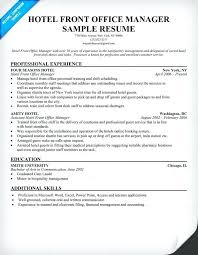 office manager resume template office manager resume sle hotel front office manager resume