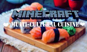 cuisine minecraft 𝓼𝓲𝓵𝓱𝓸𝓾𝓮𝓽𝓽𝓮 multi cultural cuisine minedeas minecraft