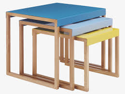 Nesting Tables Ikea by Kilo Multi Coloured Metal Nest Of 3 Side Tables Pencarian