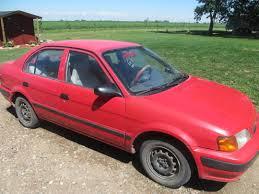 toyota tercel 1995 toyota tercel 4 door dx