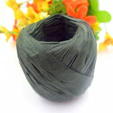 raffia ribbon aliexpress buy diy black raffia ribbon cord raffia rope for