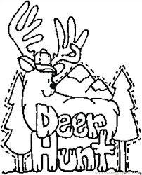 christmas reindeer coloring pages printable deer page u2013 vonsurroquen