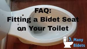 Why Have A Bidet Fitting A Bidet Seat On Your Toilet Youtube