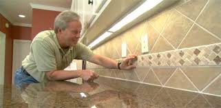 kitchen ceramic tile backsplash how to install a ceramic tile backsplash today s homeowner