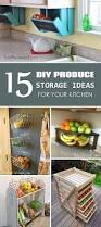 Kitchen Tidy Ideas by Best 25 Produce Storage Ideas On Pinterest Basic Grocery List