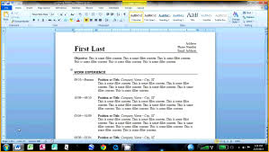 How To Make Job Resume Cover Letter How To Build A Basic Resume How To Make A Simple