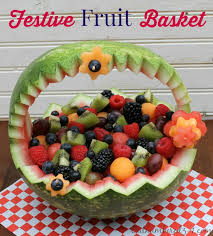 how to make a fruit basket how to make a festive watermelon fruit basket outnumbered 3 to 1