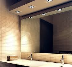 Bathroom With Mirrors Large Mirrors For Bathrooms Modern Home Design
