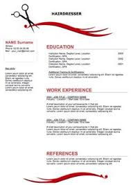 hair stylist resume example resume template 2017