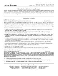 retail sales manager resume experience retail manager resume exles exles of resumes