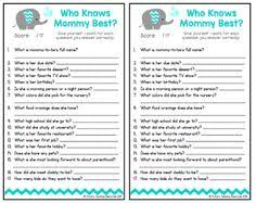 who knows best baby shower who knows best free printable baby shower in blue